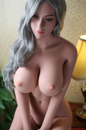 Brielle sex doll: 165cm European platinum blonde big breast goddess