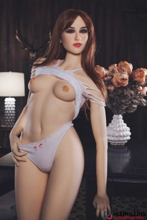Charlee sex doll: British sexy long hair beauty real doll (4 Sizes)