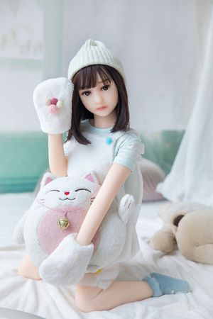 Helen sex doll: 100cm Japanese short hair and small breasts girl