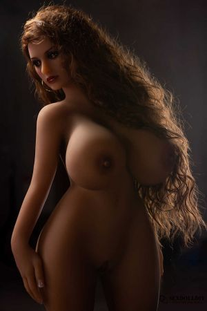 Kimberly sex doll: 108cm American wheat skin long curly hair girl